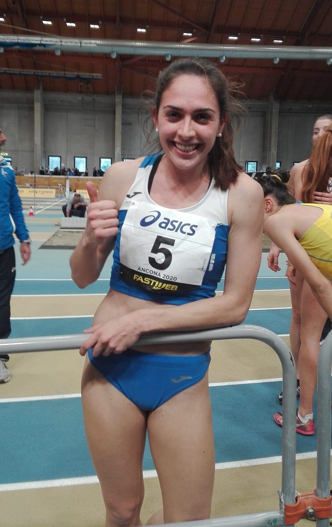Sveva è Campionessa italiana Assoluta di Pentathlon indoor 2020
